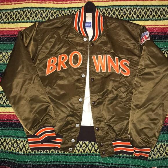 d7f3ecac Vintage Cleveland Browns Jacket 🏈🔥